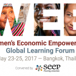 EVENT: Women's Economic Empowerment Global Learning Forum, May 23-25